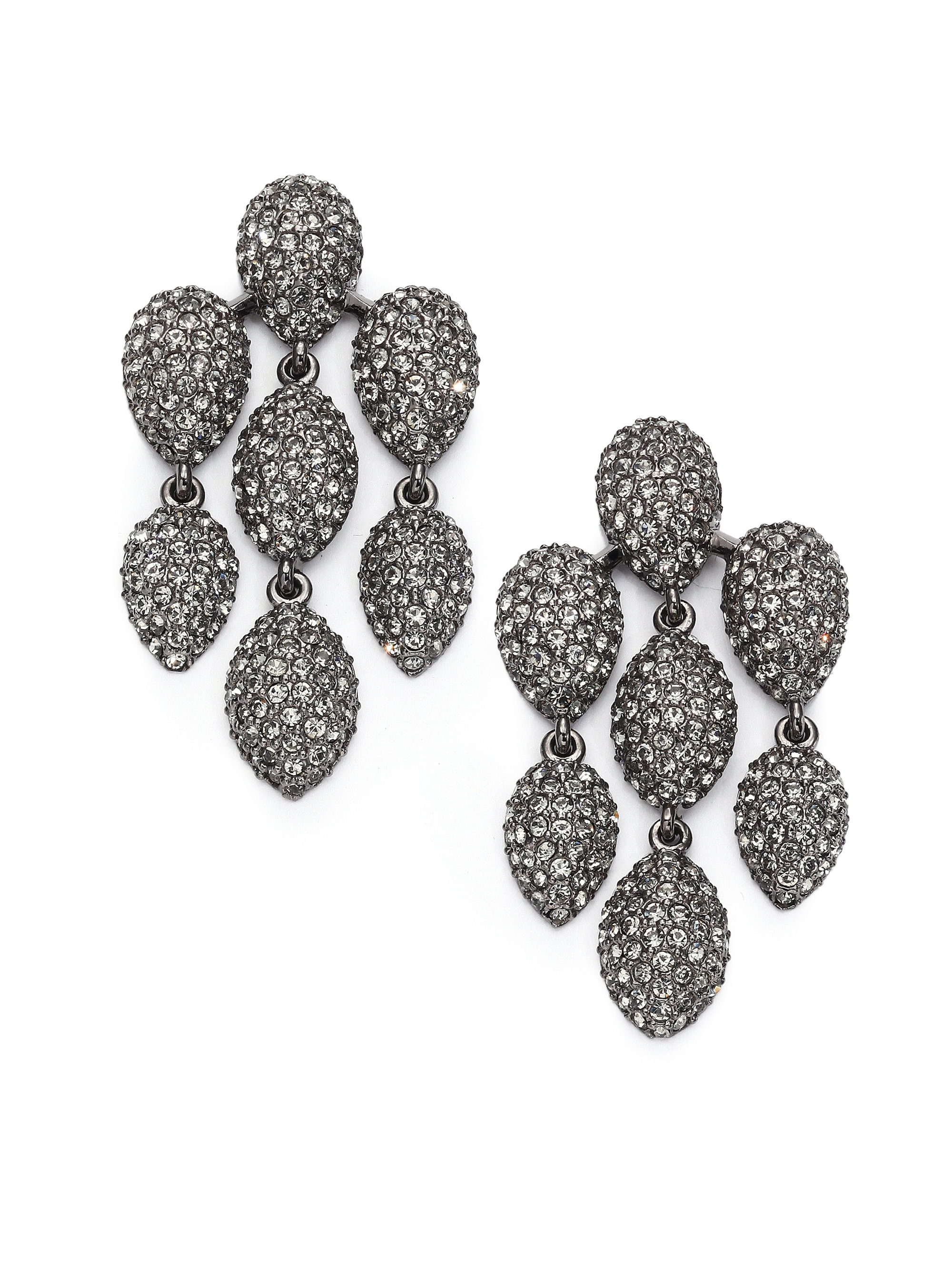 product erc singh shop jewelry nello amrita star earrings gunmetal earring main