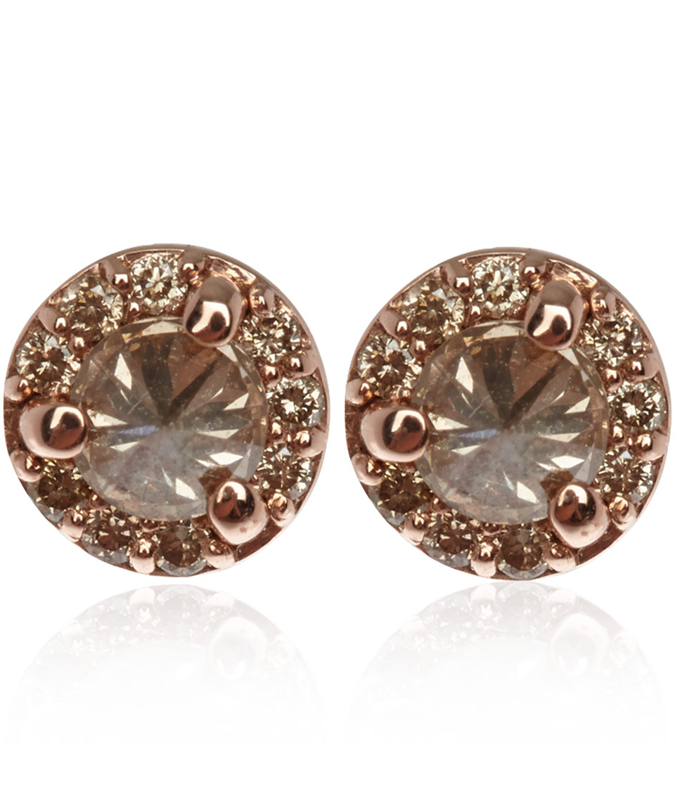 champagne of krista eight pieces earrings mcrae diamond four stud products gallery