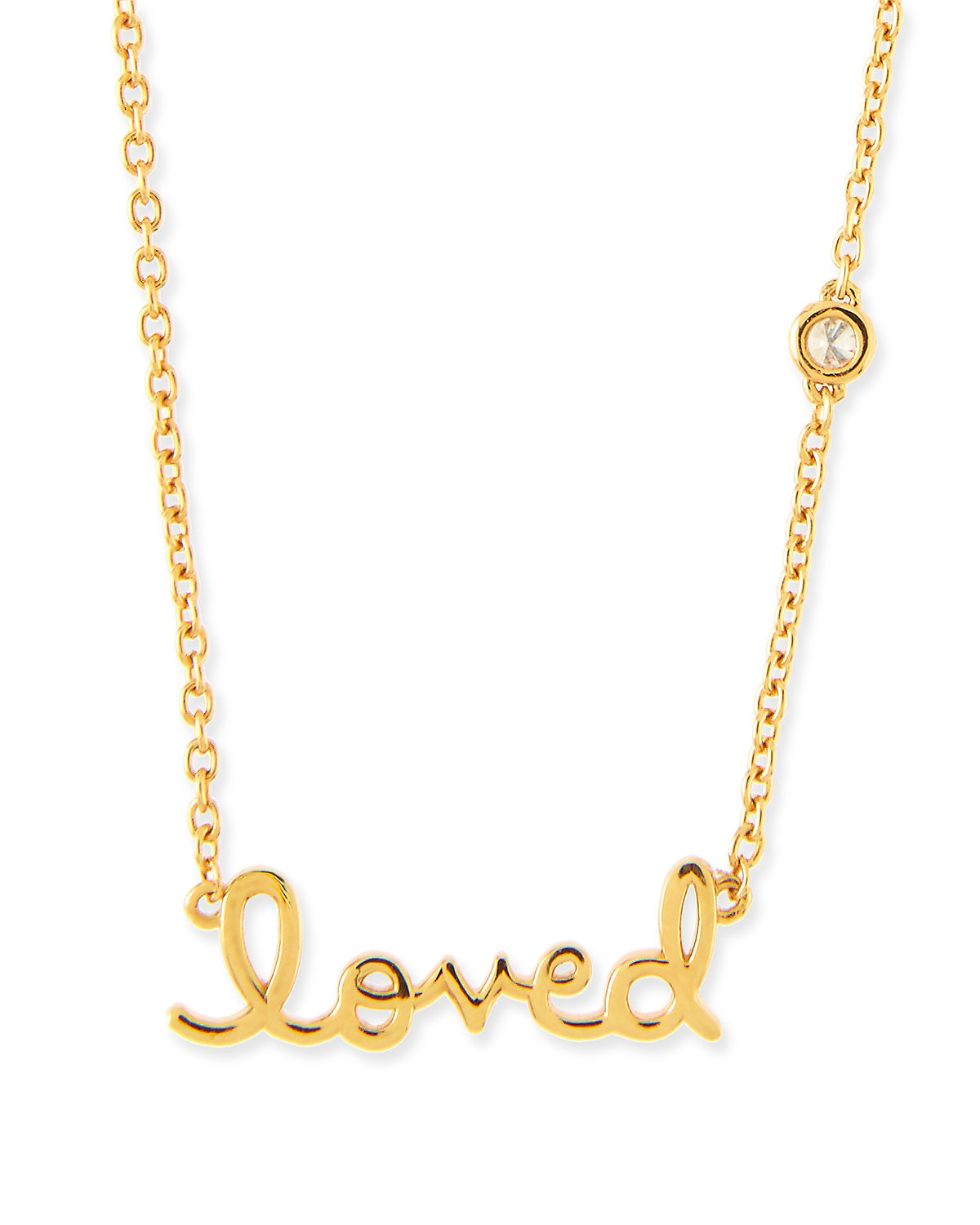 Shy by sydney evan 14k Gold Vermeil Loved Necklace in ...