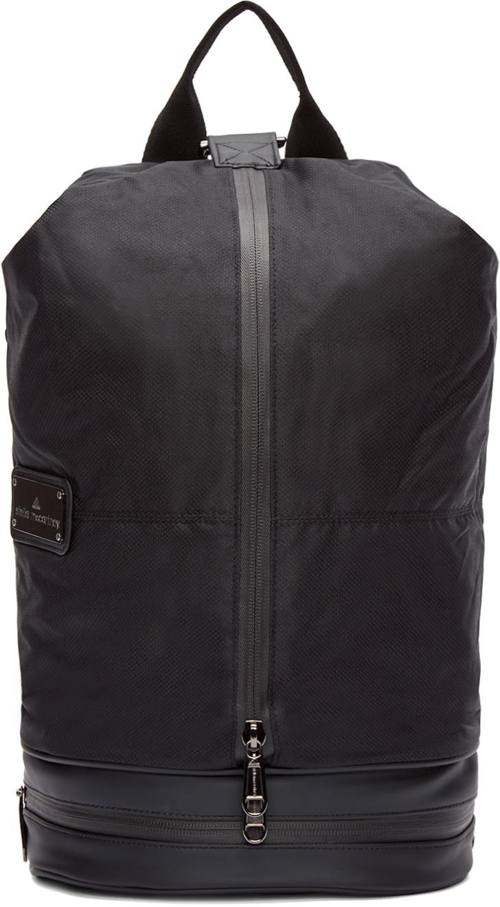 9f44915e40b8 Lyst - adidas By Stella McCartney Black Nylon Gymbag 5 Backpack in Black