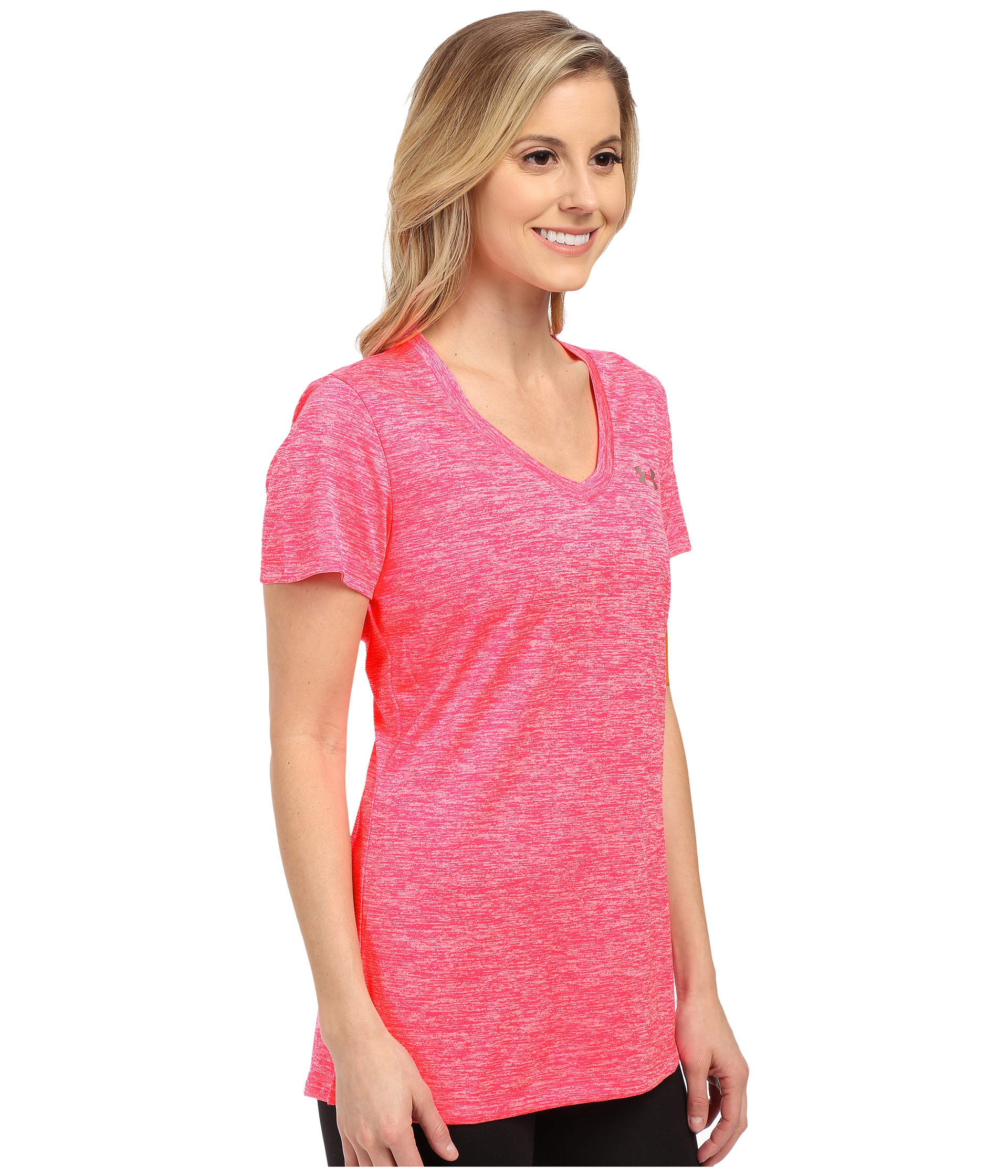Lyst - Under Armour Ua Tech™ S s - Twist in Red 04d7e6912fd