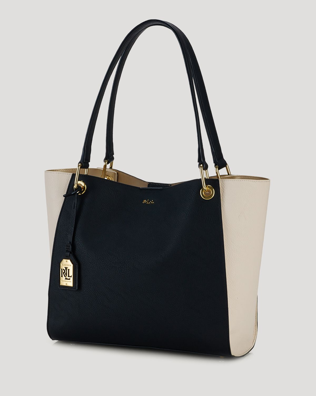 Ralph Lauren Tote Laukku : Ralph lauren tote aiden per colorblocked in