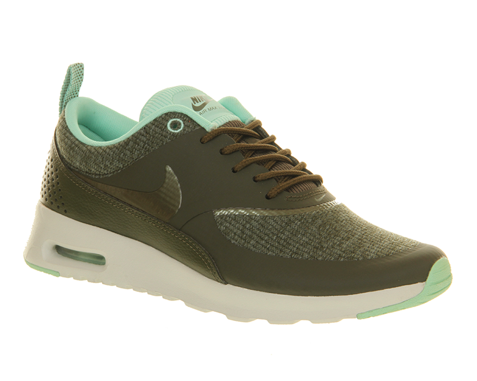 nike air max thea in khaki lyst. Black Bedroom Furniture Sets. Home Design Ideas