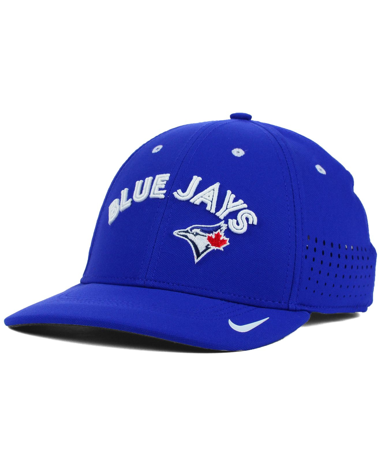 208403a16535 Lyst - Nike Toronto Blue Jays Vapor Swoosh Flex Cap in Blue for Men