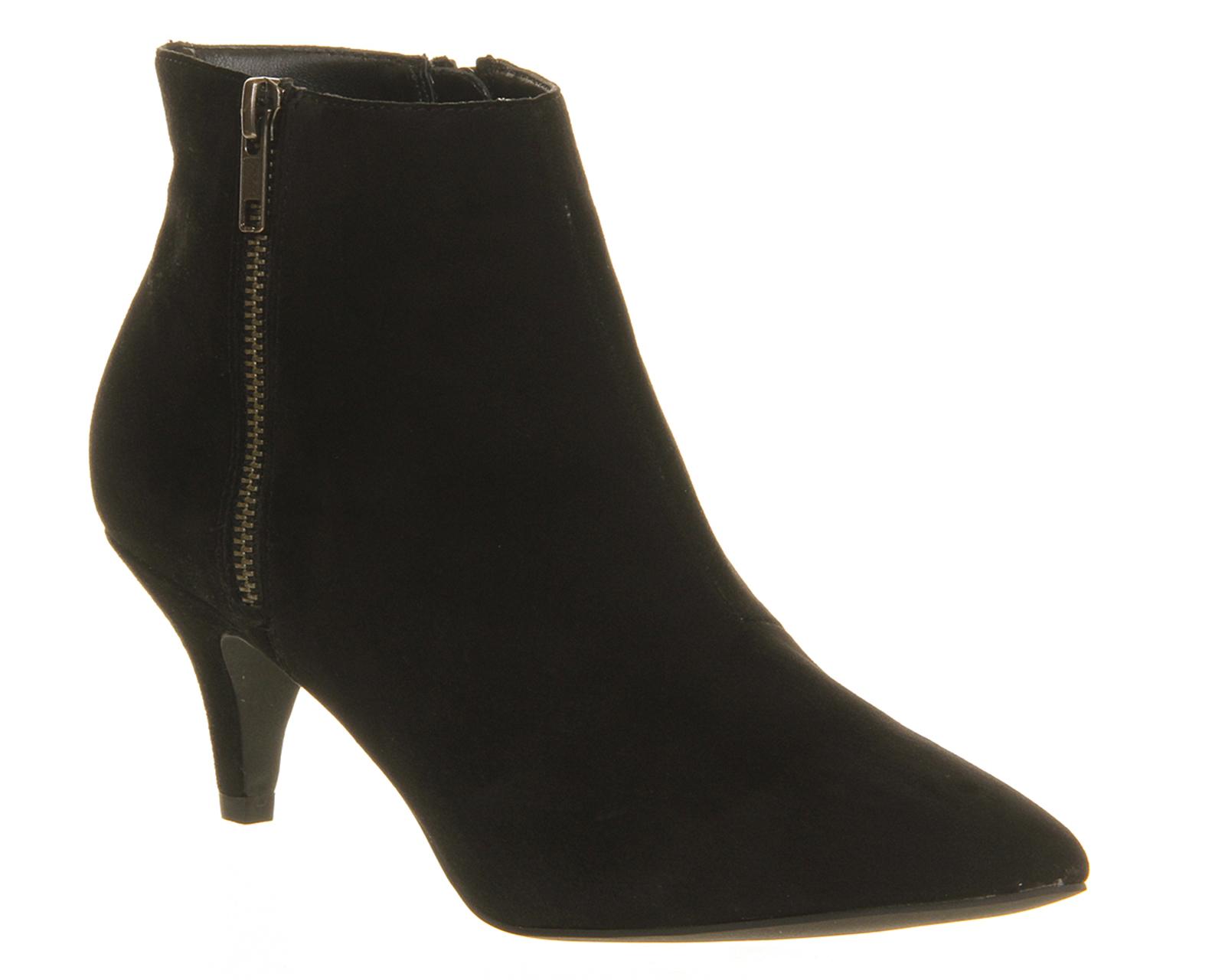 Kitten Heel Shoe Boots