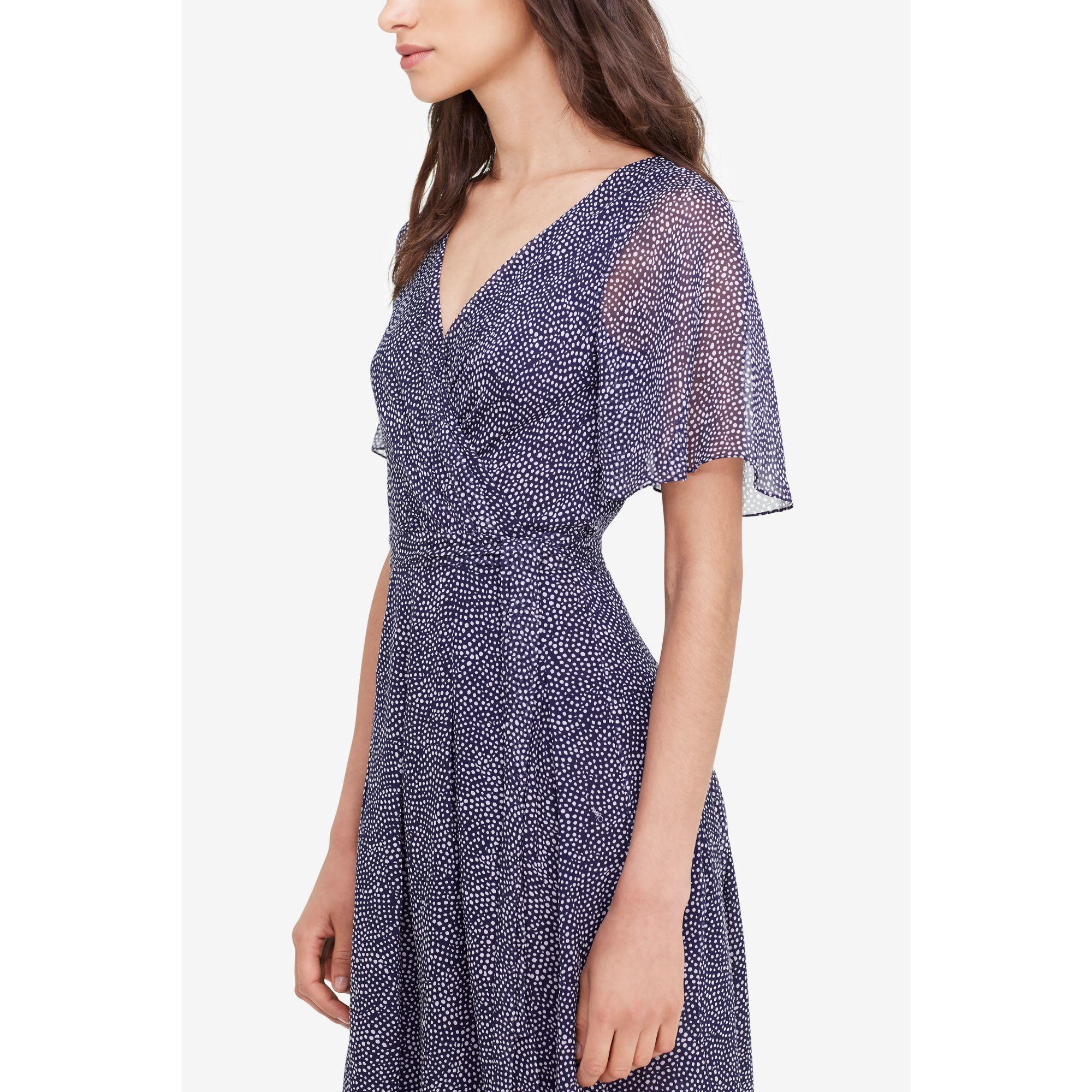Diane von furstenberg Katina Silk-Chiffon Wrap Dress | Lyst