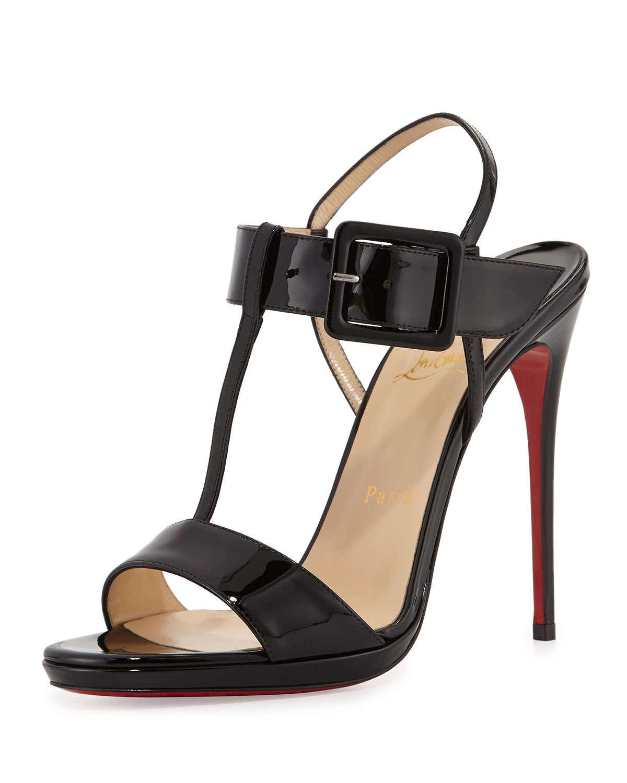 Black sandals louboutin - Gallery