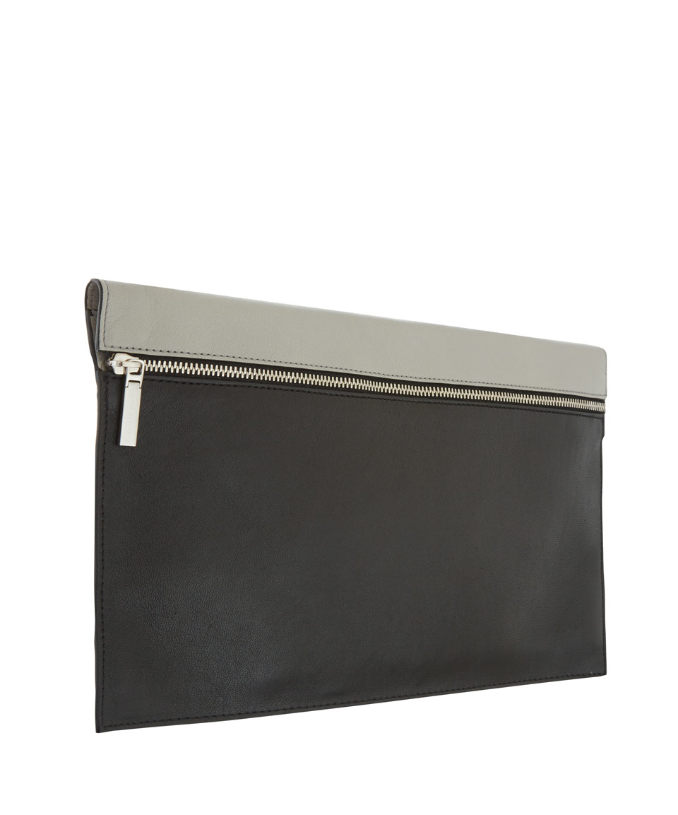 Free Shipping Looking For Free Shipping Cost zipped pouch clutch bag - Black Victoria Beckham Buy Cheap Reliable Sale The Cheapest t1ACcsaWc