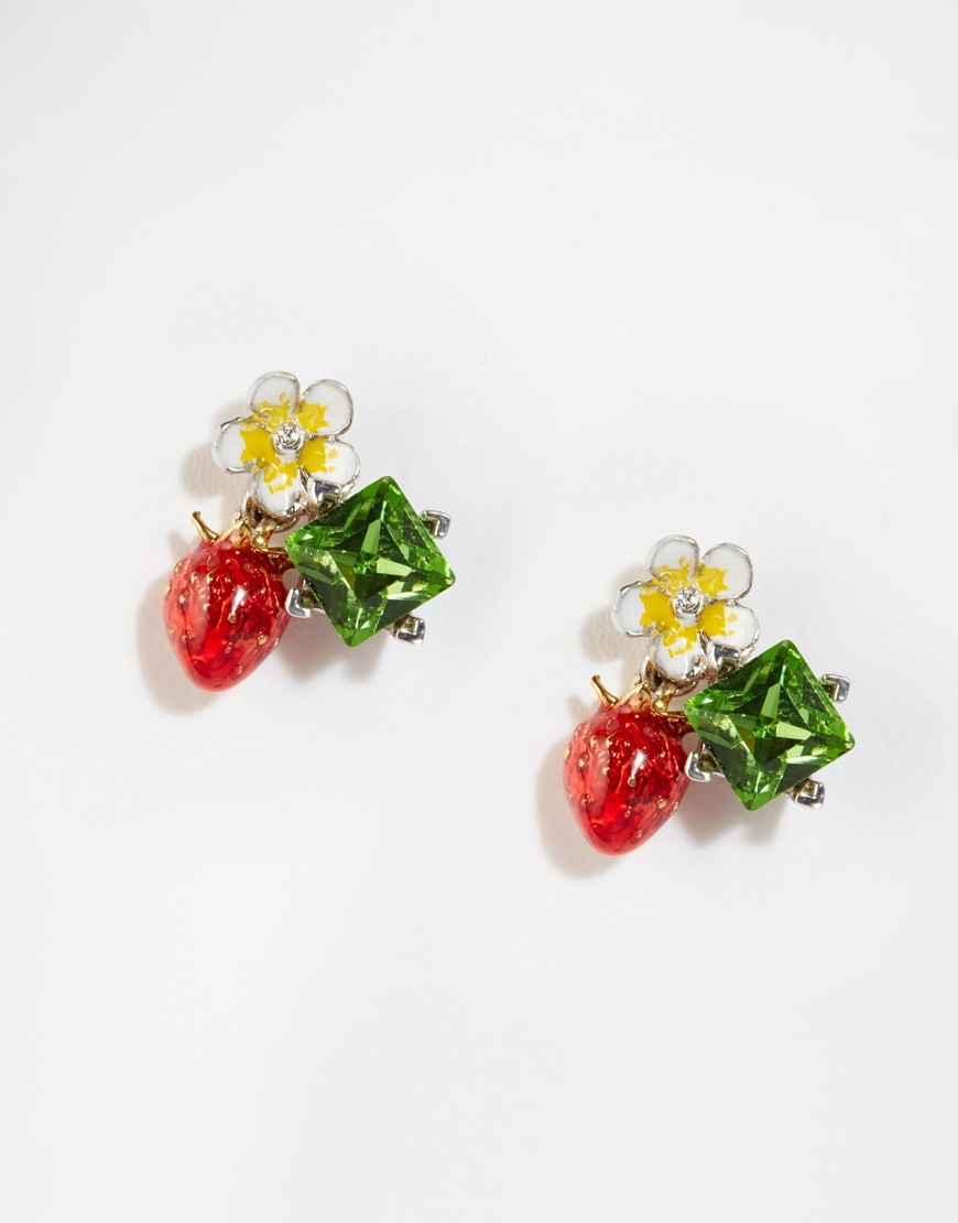 collections stud virtual earrings pointe strawberry sandi library of