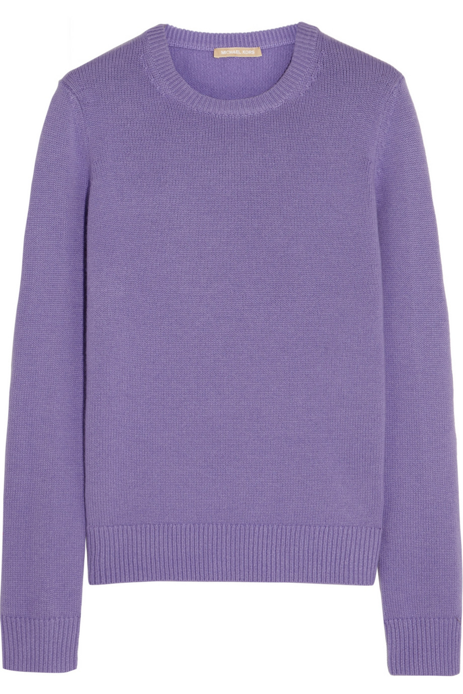 Michael kors Cashmere Sweater in Purple | Lyst