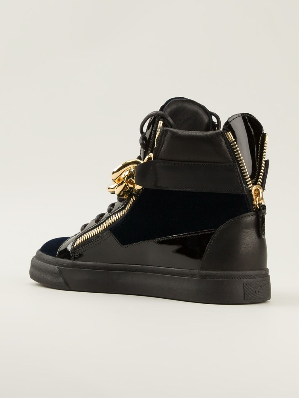 Giuseppe Zanotti Gold Toe Shoe