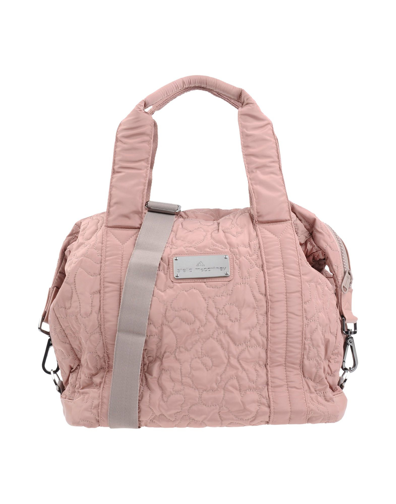 Lyst - adidas By Stella McCartney Medium Quilted Gym Bag in Pink bd3e13e173