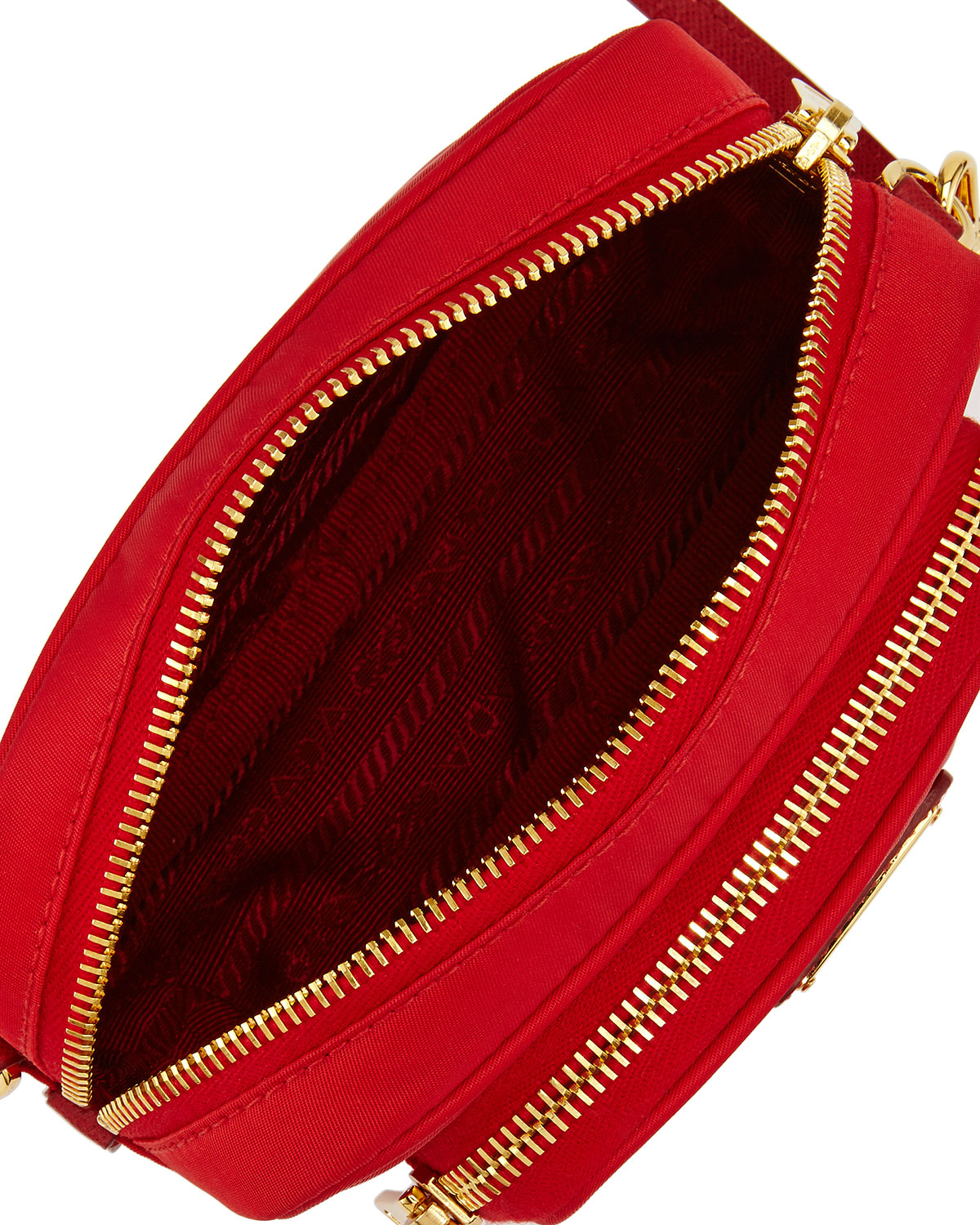 black prada tote - Prada Tessuto Small Pocket Crossbody Bag in Red | Lyst
