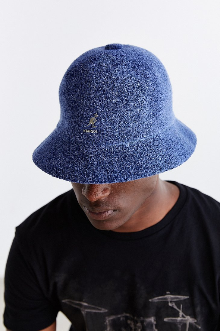Lyst - Kangol Bermuda Casual Bucket Hat in Blue for Men ba11052f9c3