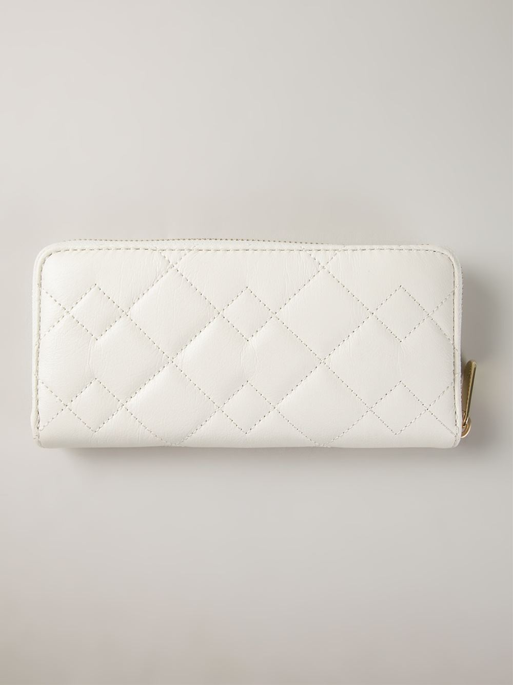 Marc By Marc Jacobs Crosby Quilted Slim Zip Around Wallet