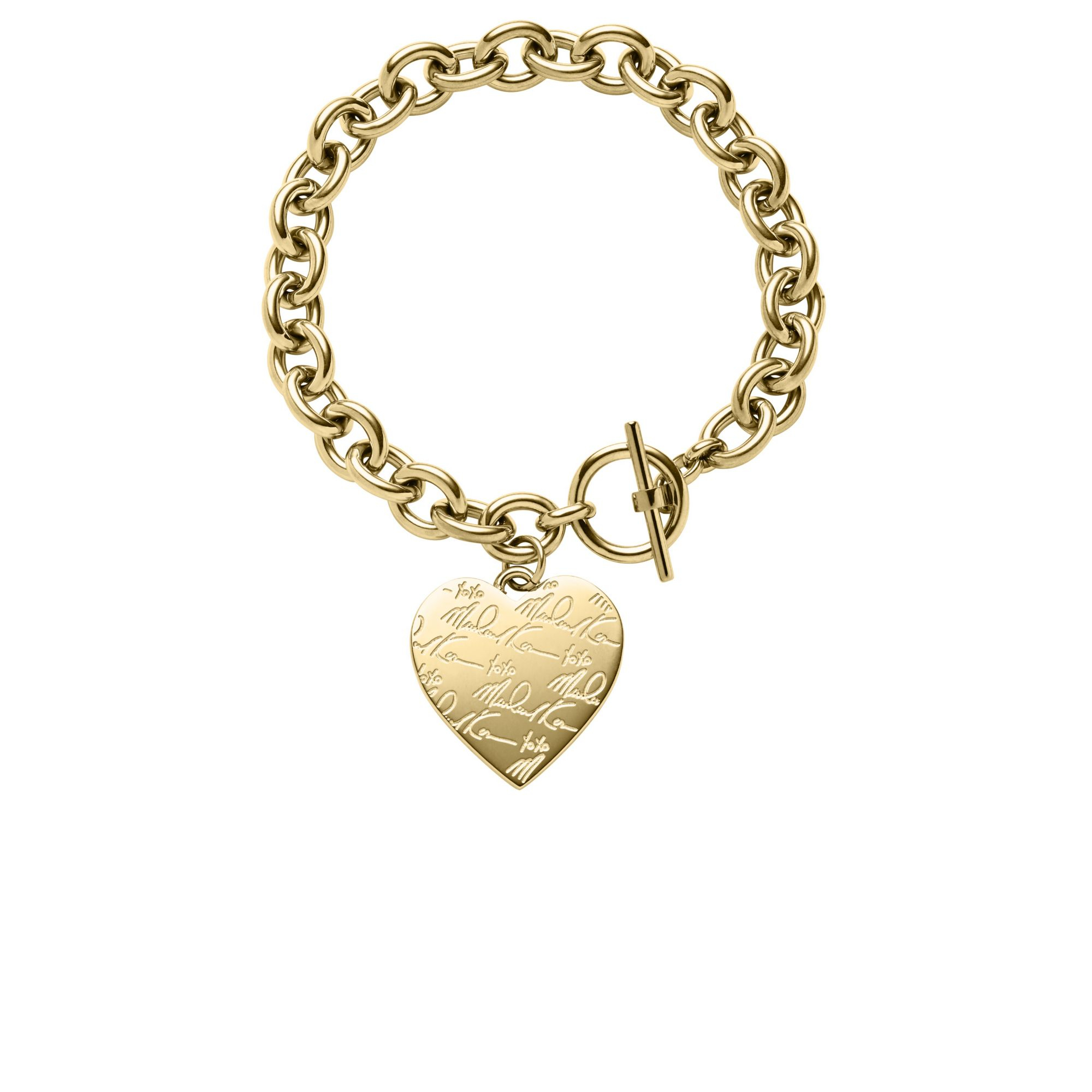 yellow rolo product bracelet link inches gold heart charm watches free shipping jewelry today overstock fremada on