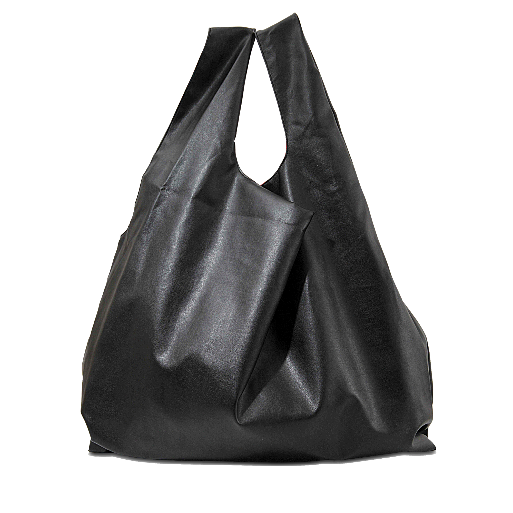 Maison Martin Margiela Black reptile printed shopping bag dWpJ4