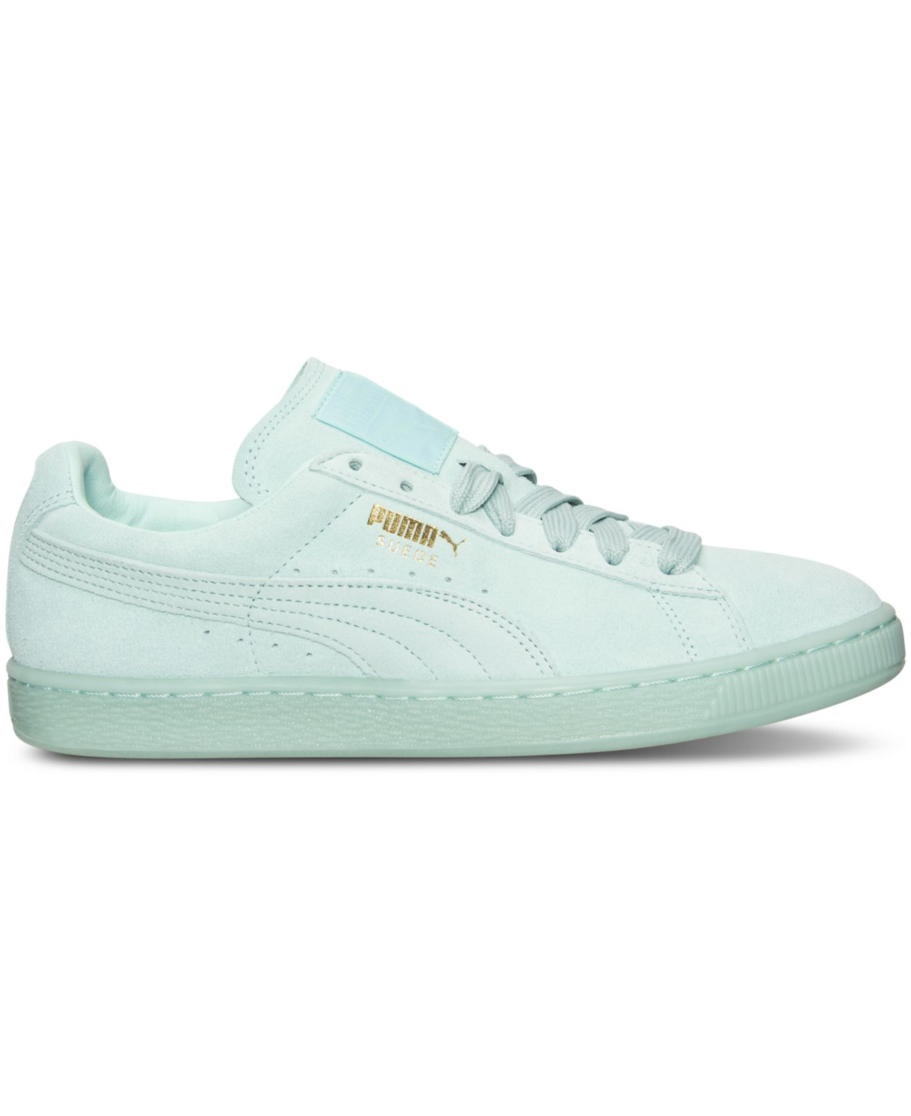 Lyst - PUMA Men s Suede Classic Iced Mono Casual Sneakers From ... fbaddc22f
