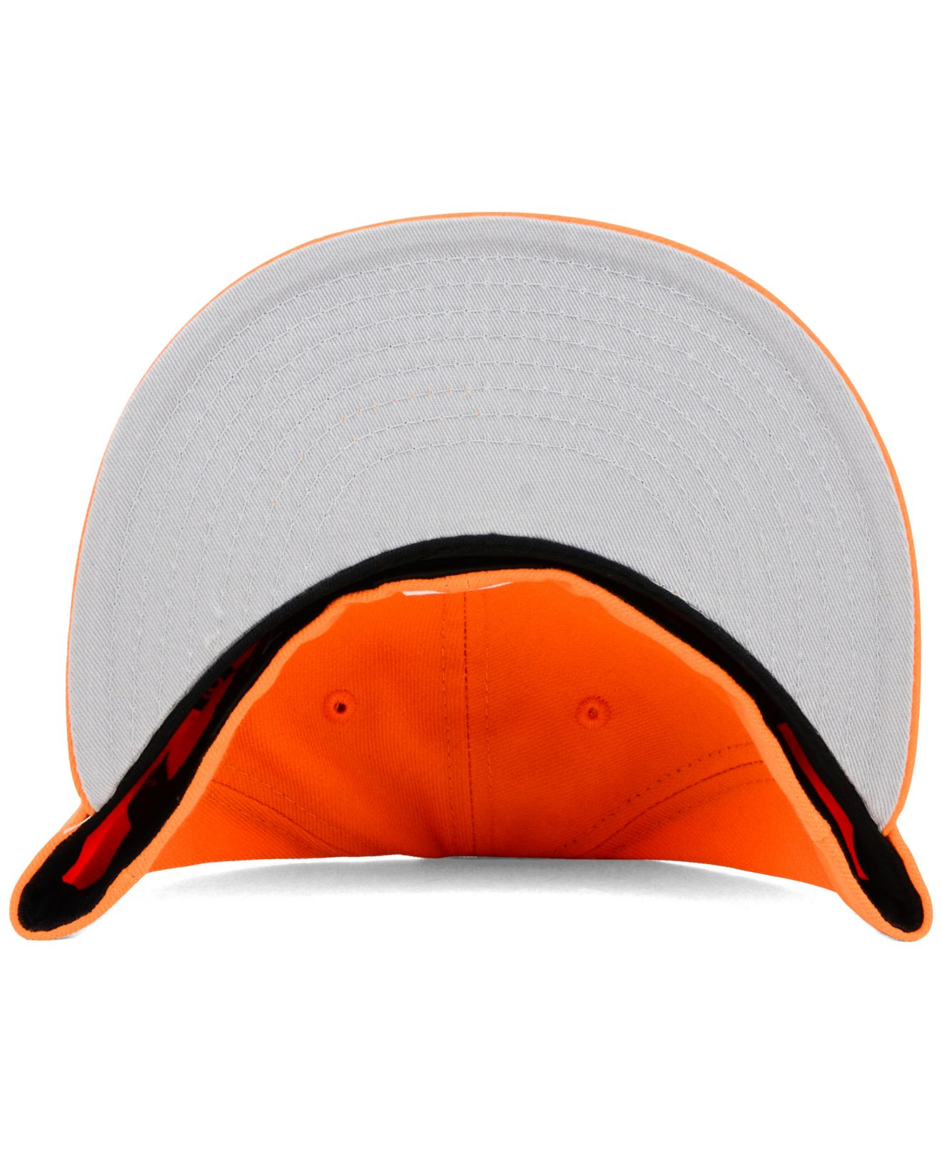 newest 7c67f 7f3c9 ... purchase lyst ktz atlanta braves c dub 59fifty cap in orange for men  0b3b4 c7fd1