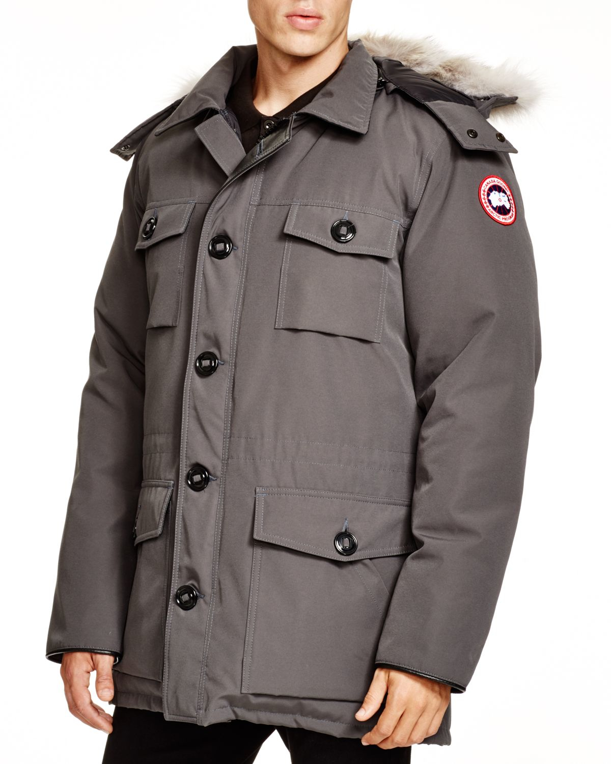 Canada Goose womens online cheap - Canada goose Banff Parka in Gray (Graphite) | Lyst