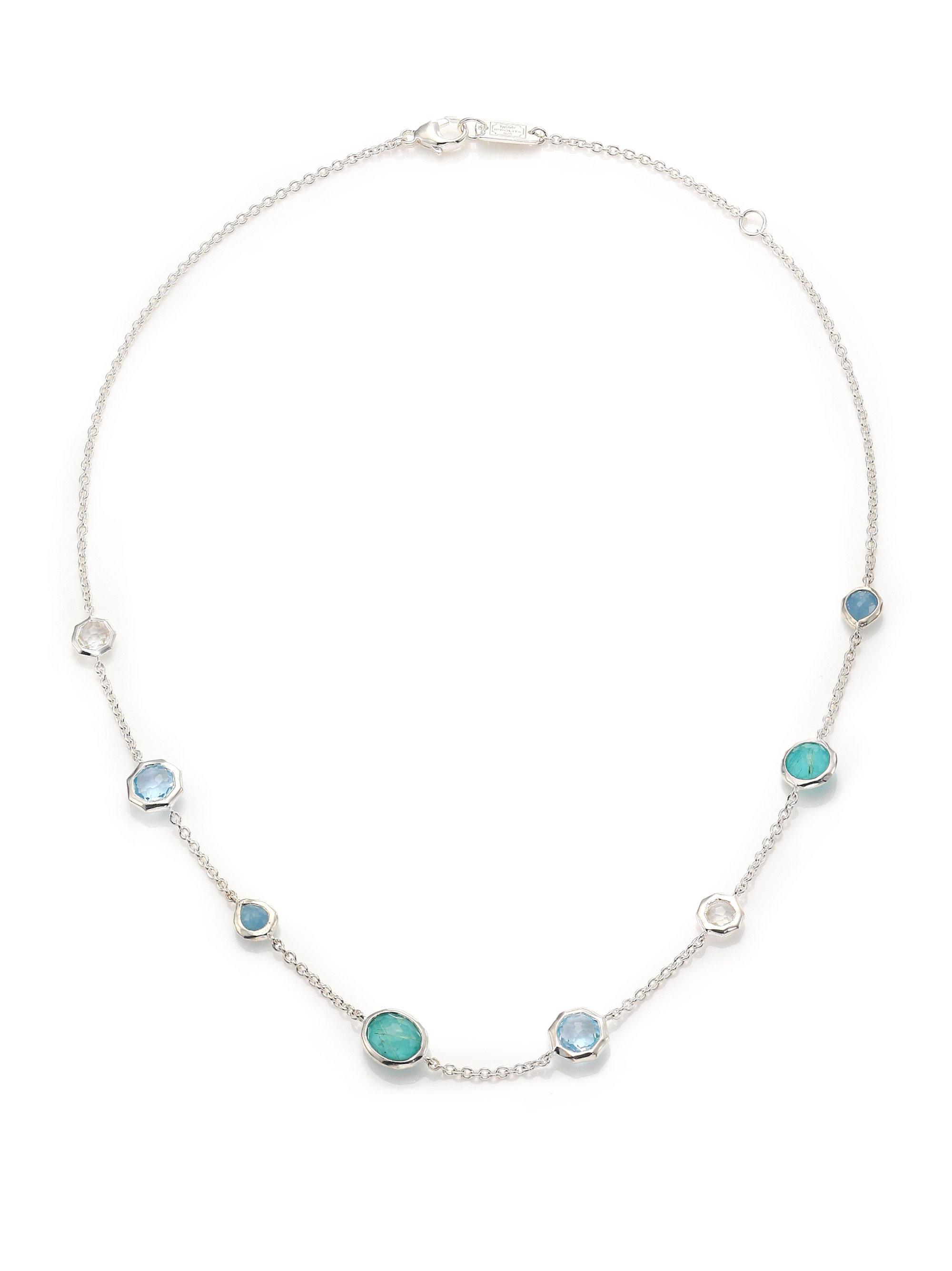 gold cut white in image princess aquamarine anklet bracelet