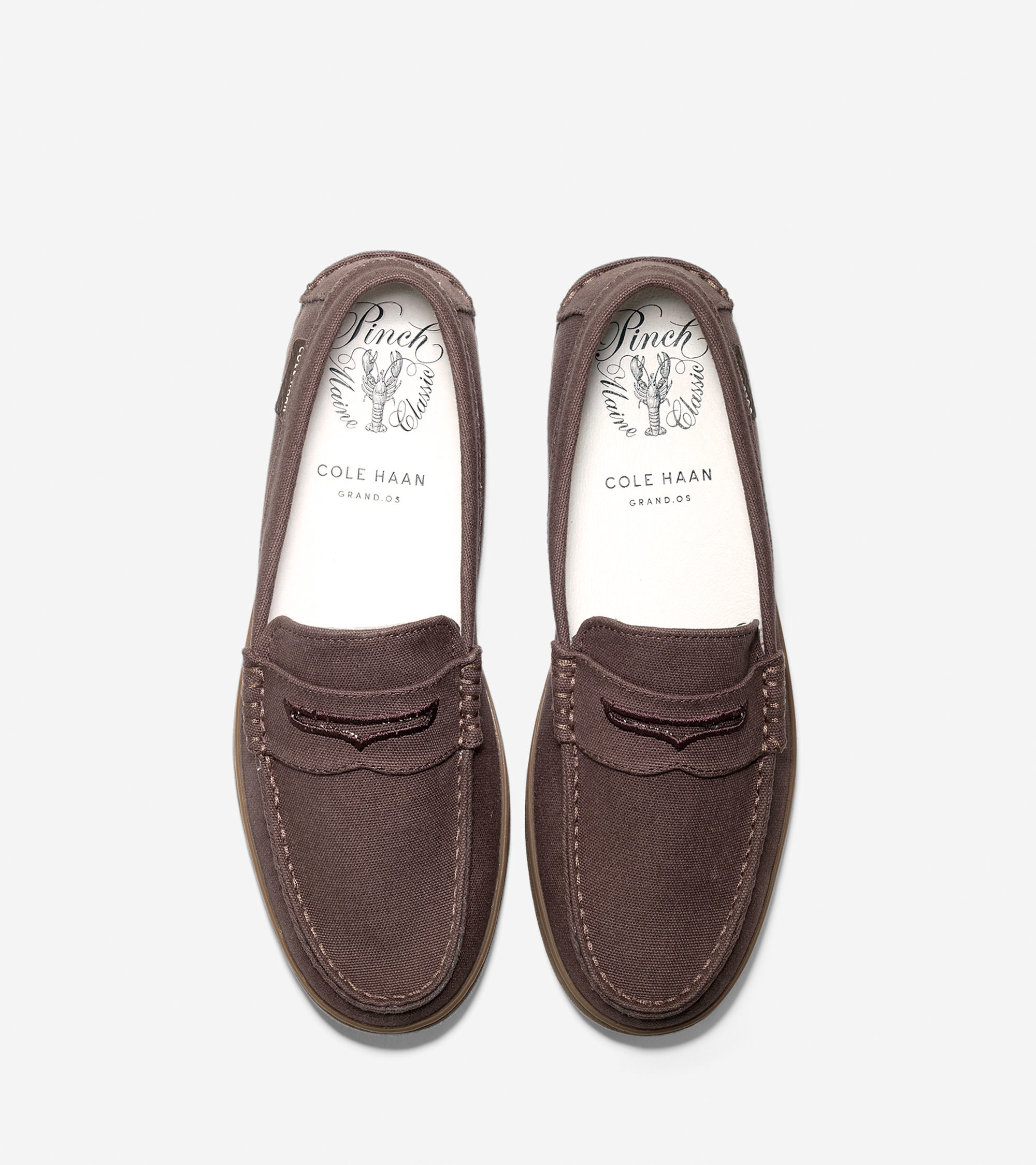 Cole Haan Leather And Canvas Mens Shoe