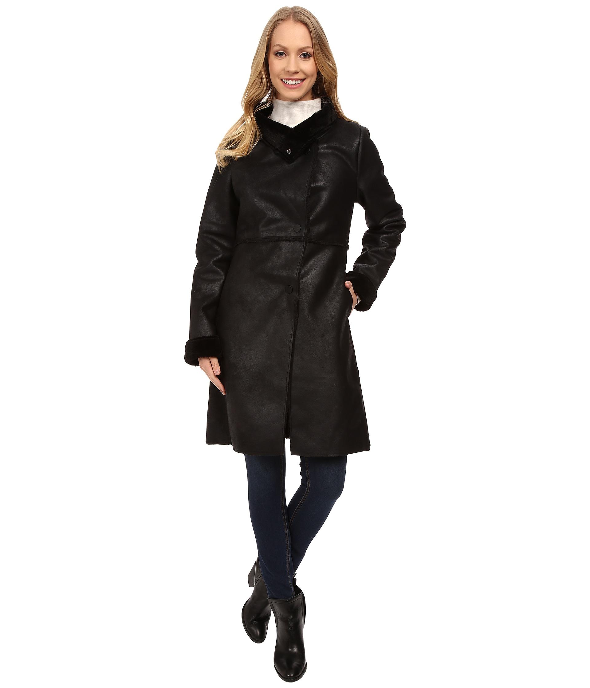Shearling Long Coat