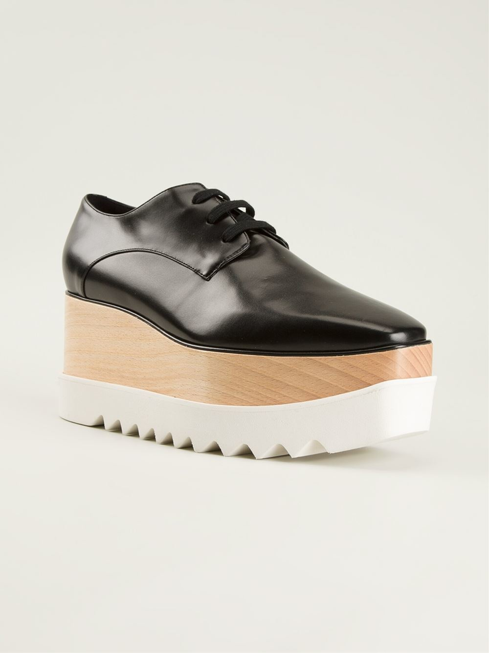 Lyst Stella Mccartney Elyse Platform Shoes In Black