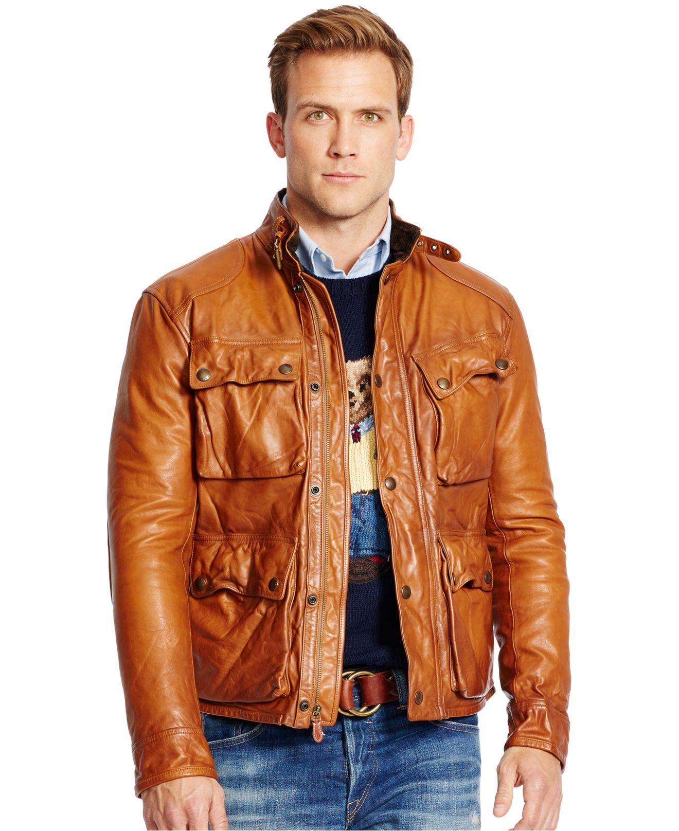 leather biker jacket mens uk polo sweaters