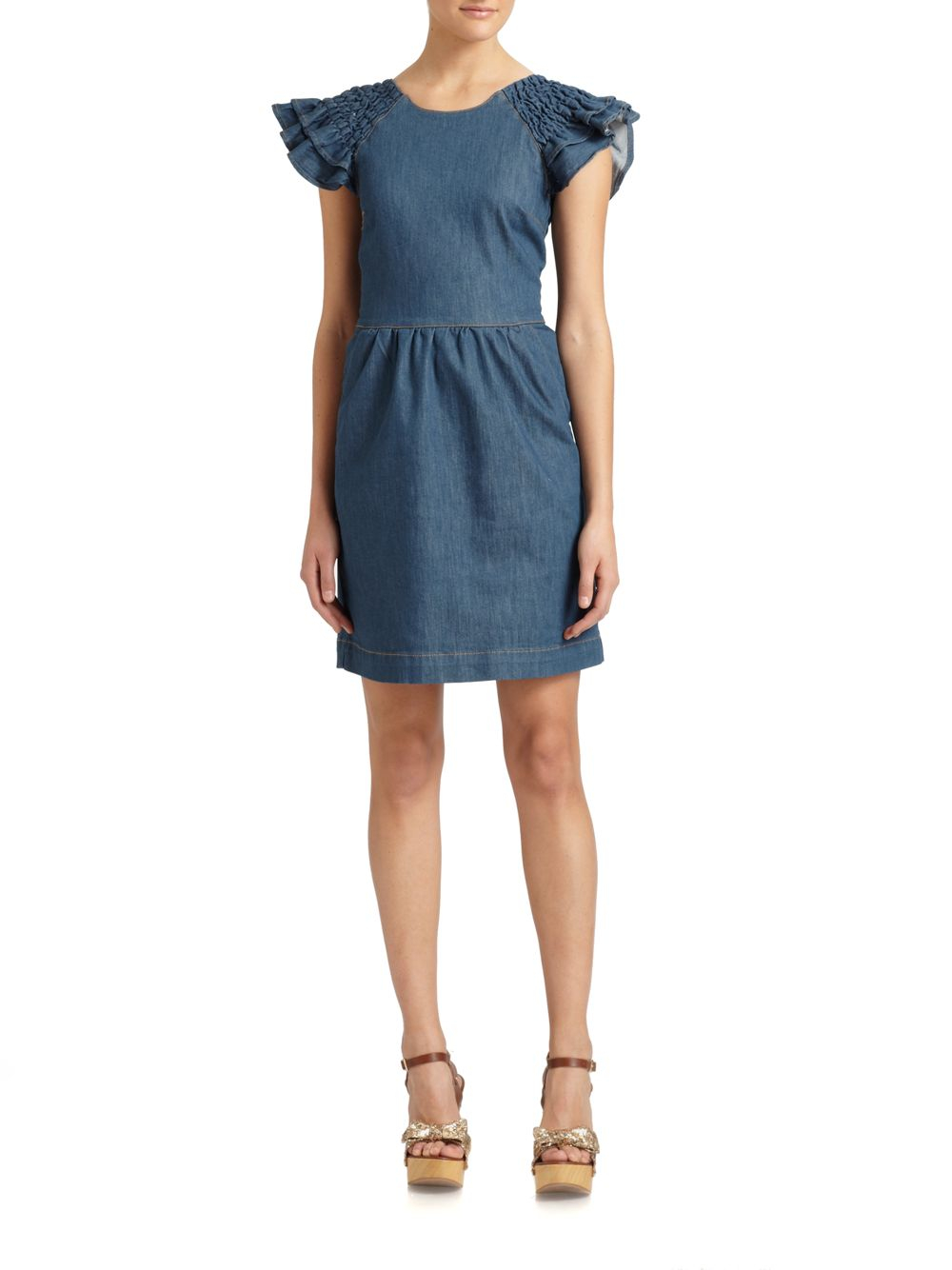 Shop for denim dresses at eacvuazs.ga Free Shipping. Free Returns. All the time.