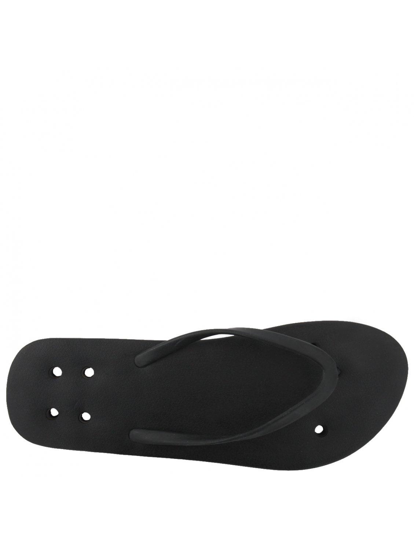 3eedf29573b Rick Owens Classic Flip Flops Black in Black - Lyst
