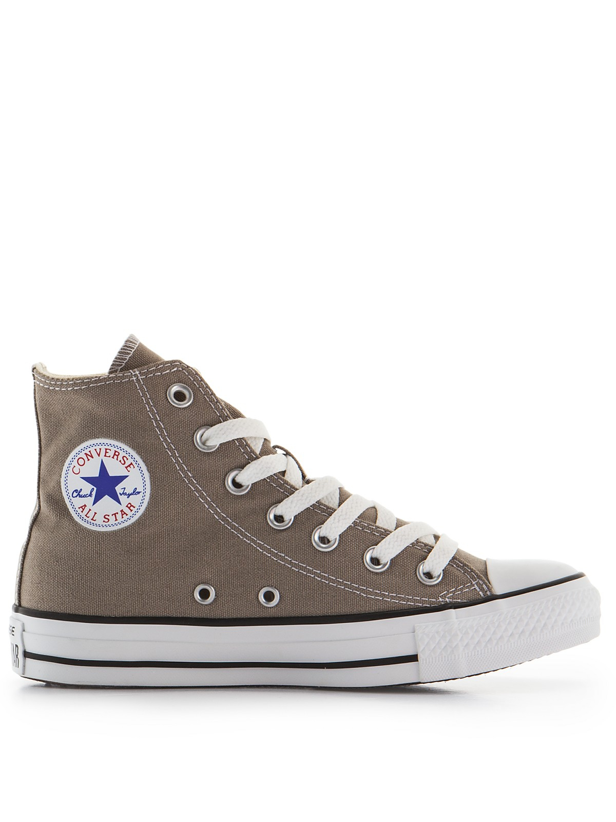 Converse Chuck Taylor All Star Canvas Hitop in Gray for .