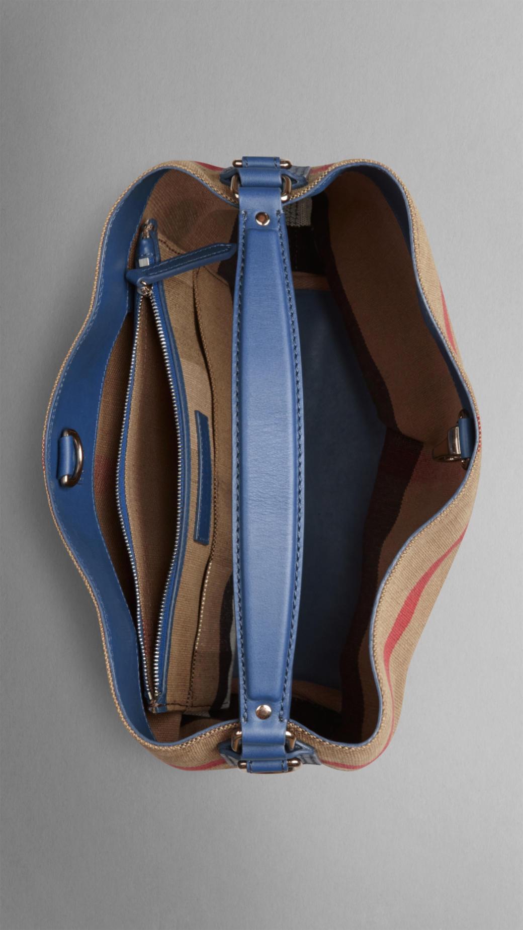 Burberry Handbags Blue