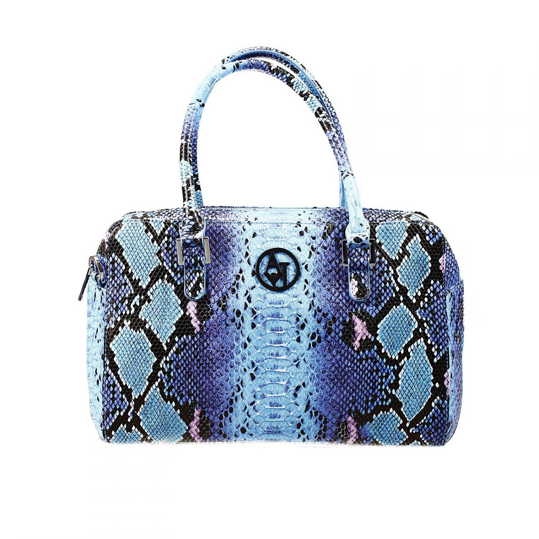 8c2e33522f Lyst - Giorgio Armani Handbag Bag Ecopitone Multicolor Duffle in Blue
