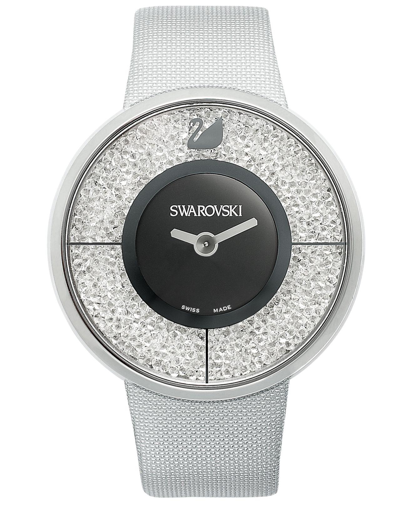 Lyst - Swarovski Watch, Women's Swiss Crystalline Silver ...