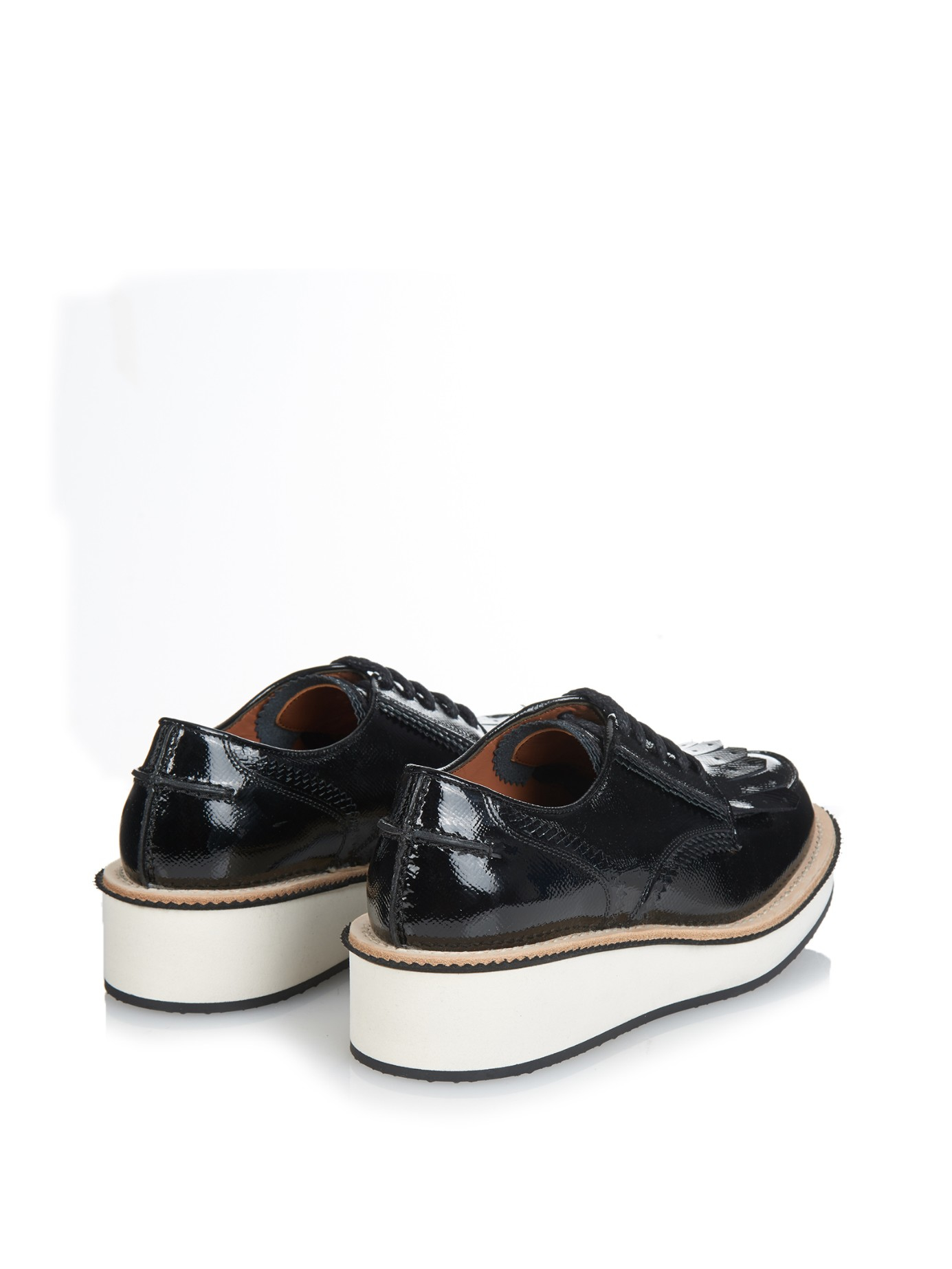 givenchy rottweiler lace up derby shoes in black lyst