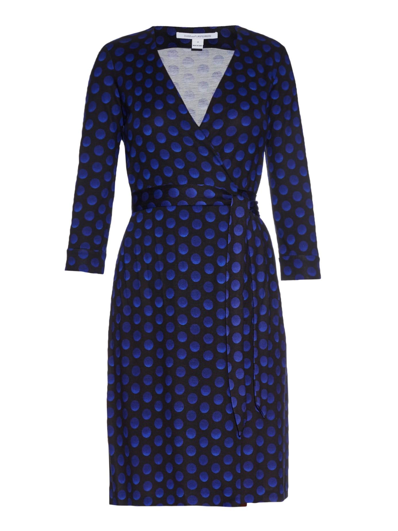 Diane Von Furstenberg New Julian Two Dress In Blue Lyst