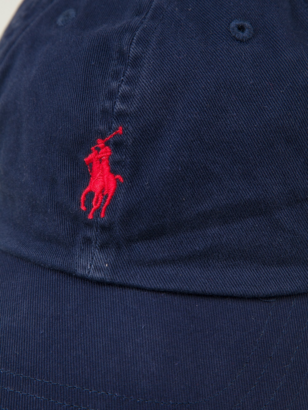 Polo Ralph Lauren Logo Embroidered Baseball Cap In Blue