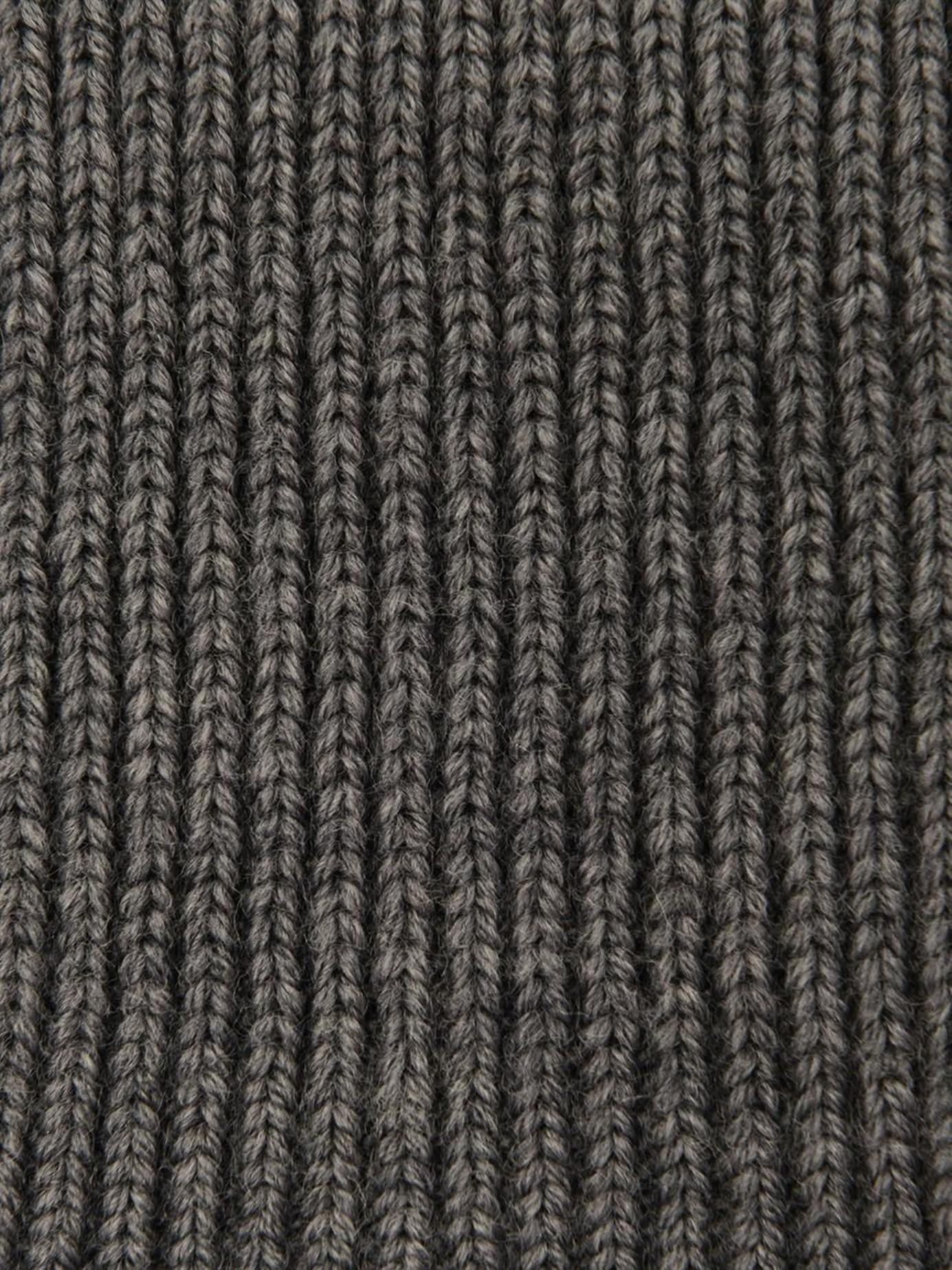 4f5a9bfa5 Stella McCartney Long Ribbed-Knit Wool Gloves in Gray - Lyst