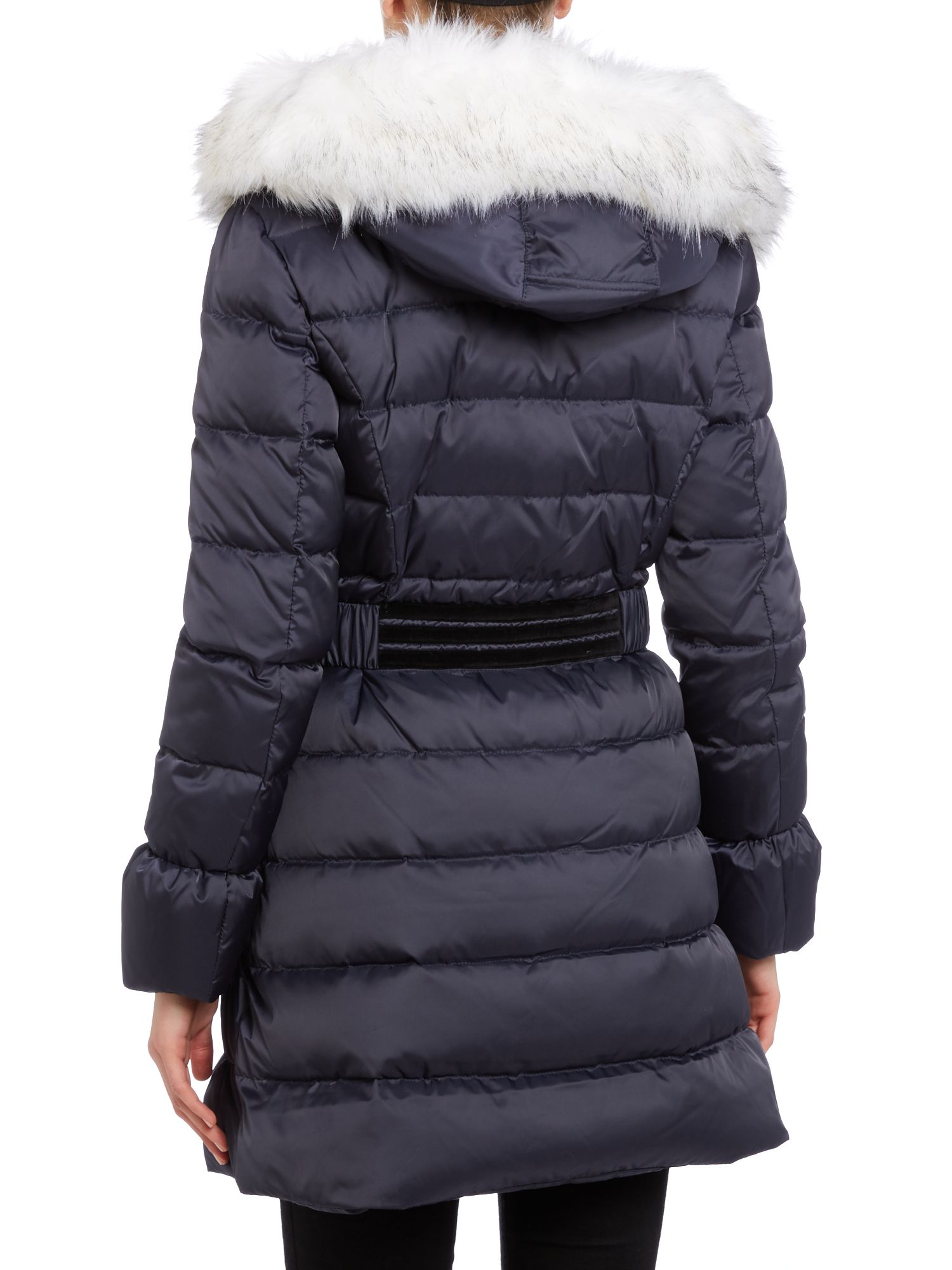 Dawn levy Black Down Ladies Jacket in Blue | Lyst