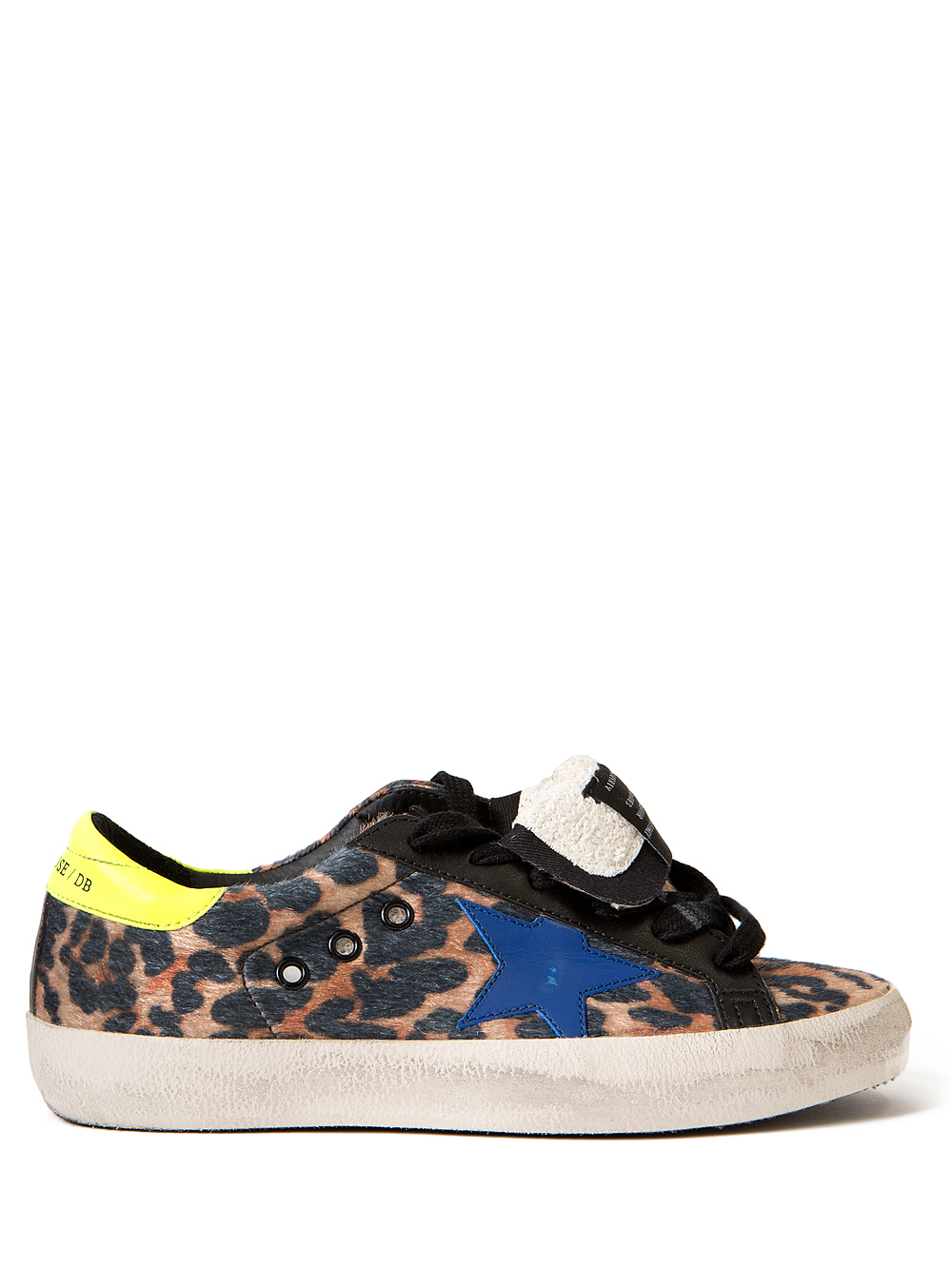 golden goose deluxe brand superstar leopard sneakers in animal lyst. Black Bedroom Furniture Sets. Home Design Ideas