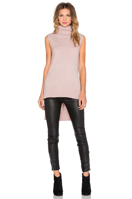 349d889ff275 Lyst - Sen Alyn Turtleneck Sweater in Pink