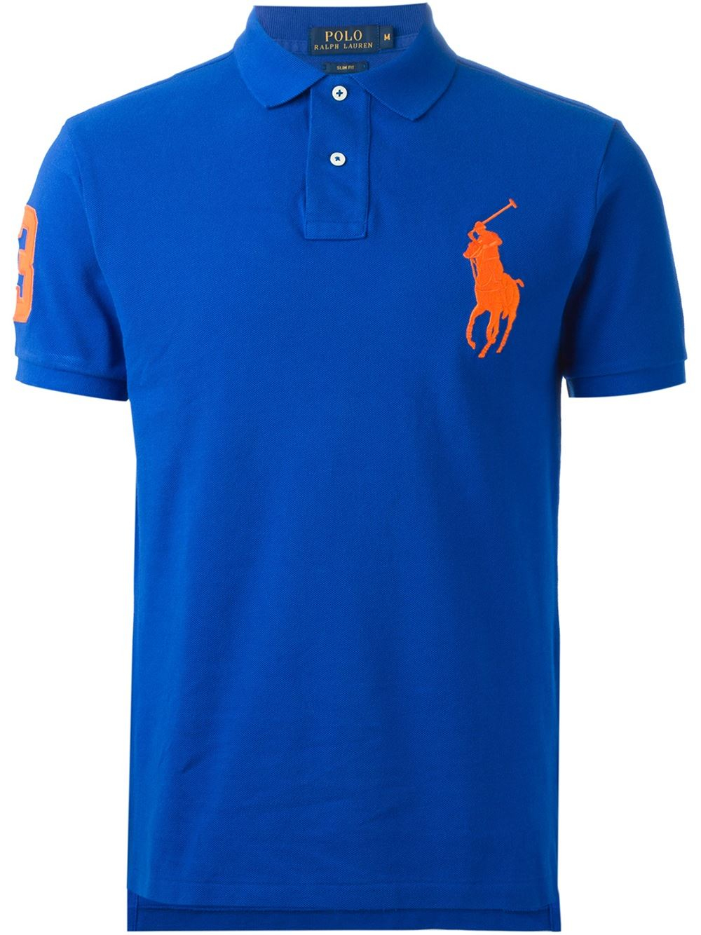 Polo ralph lauren \u0026#39;big Pony\u0026#39; Polo Shirt in Blue for Men | Lyst