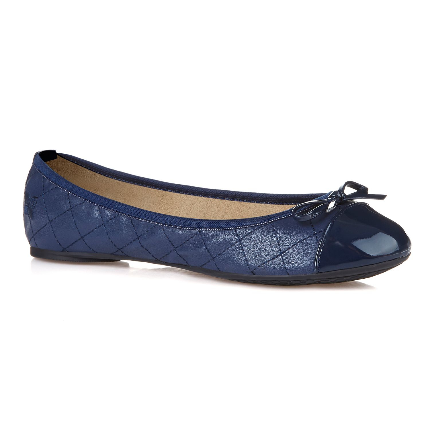 butterfly twists olivia foldable ballerina pumps in blue navy lyst. Black Bedroom Furniture Sets. Home Design Ideas