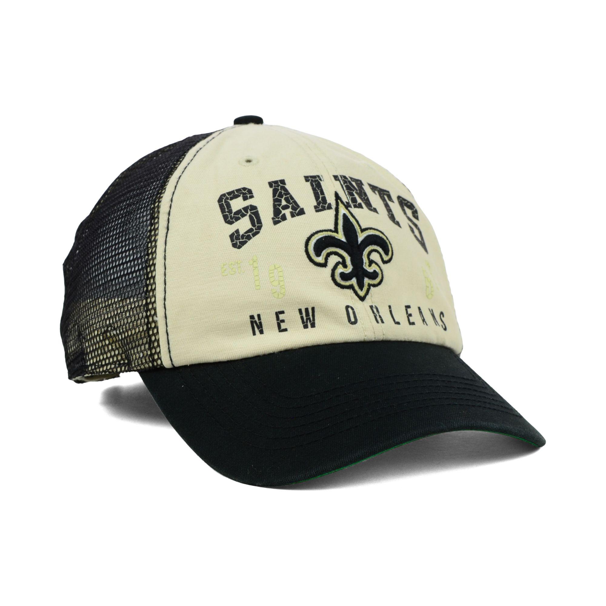 pretty nice f666b 2bc52 Lyst - 47 Brand New Orleans Saints Underwood Clean Up Cap in Black ...