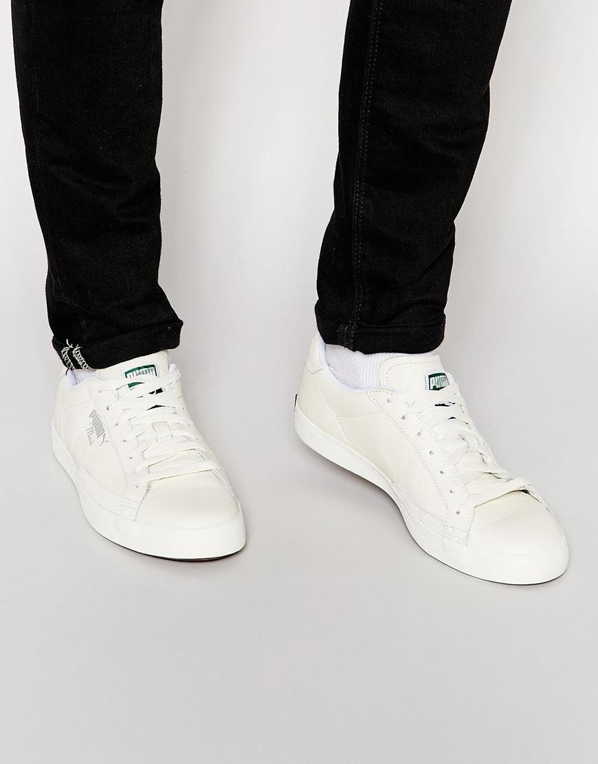 565da11b2519 Lyst - PUMA Match Sneakers in Natural for Men