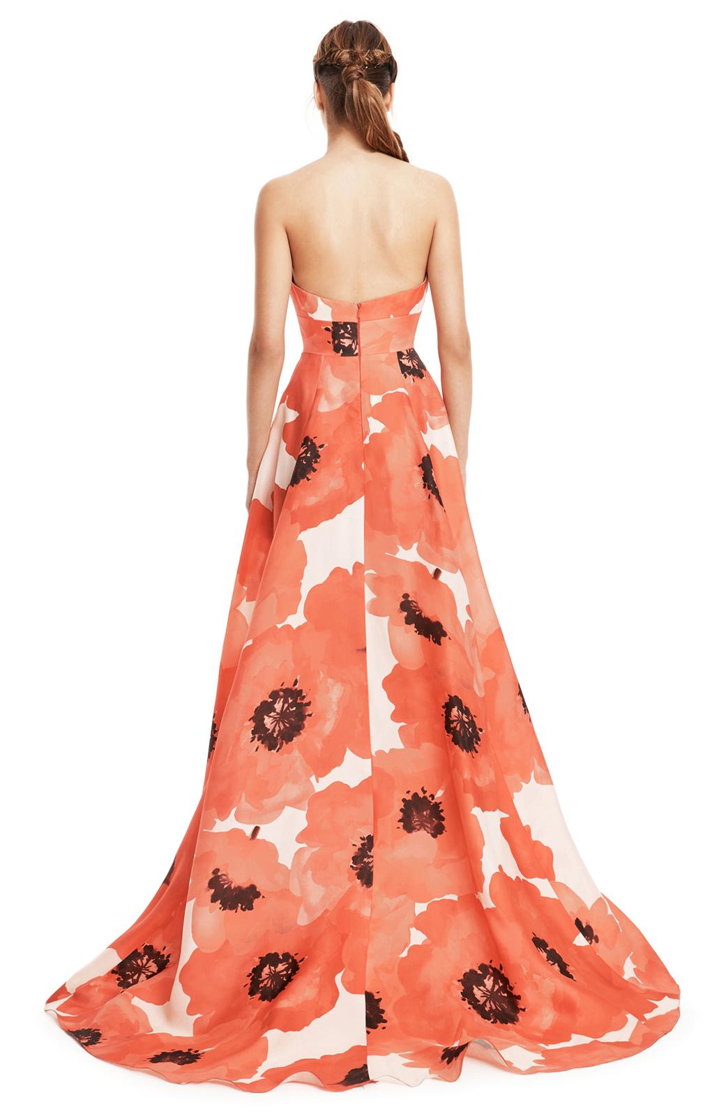 Lela Rose Silk Sleeveless Dress Clearance Footlocker Get To Buy For Sale G56jh