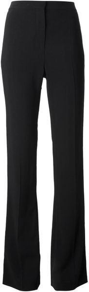 Givenchy Flared Tailored Trousers in Black