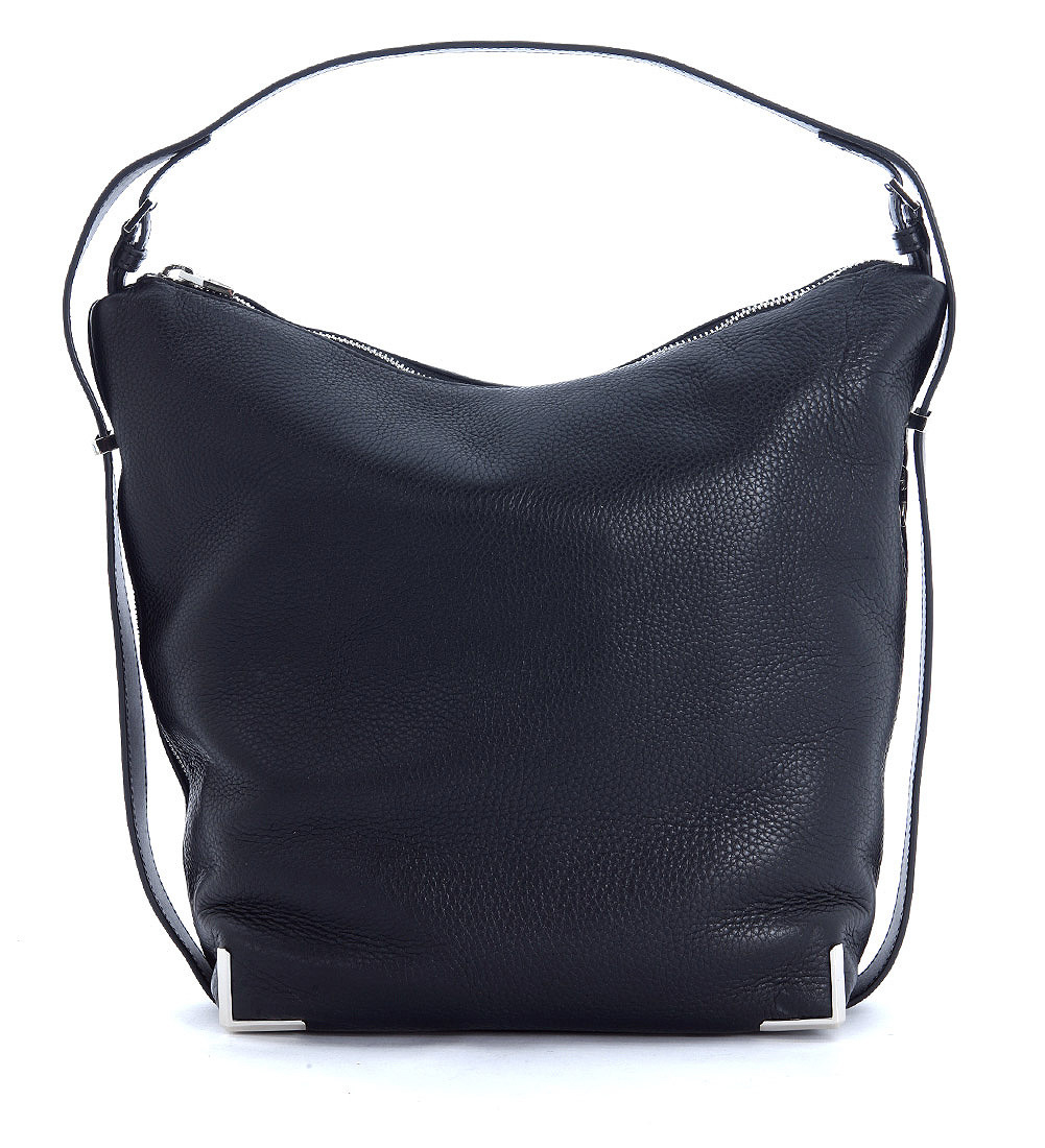Alexander wang Prisma Shoulder Bag In Black Tumbled Leather in ...
