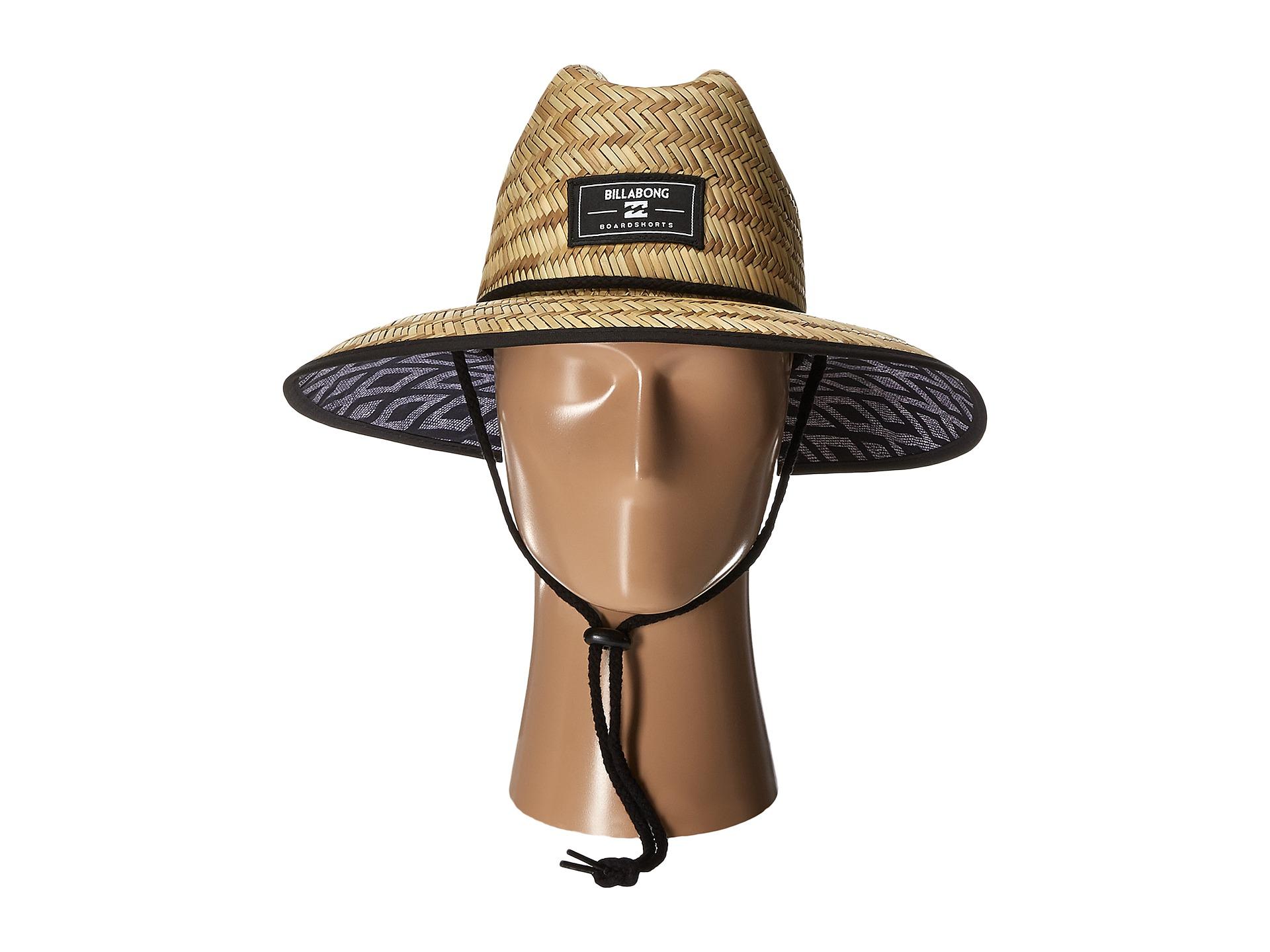 eaae7745ec8da ... czech walled trucker hat black lyst billabong brolock hat in natural  for men 6be49 edd52